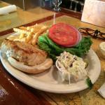 Briny's Mahi Sandwich