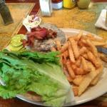 Briny's Bacon Cheeseburger