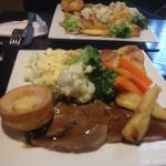 Best roast dinner in Boston 1st class ��