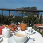 colazione in balcone