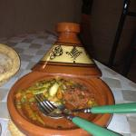 Dinner at night in the ryad - amazing