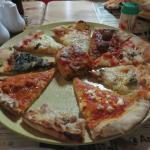 Assortiment de pizzas