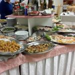 parte di buffet antipasti