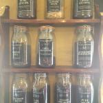 Tea selection in the tea shop