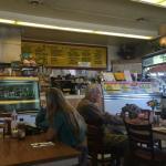 in the diner