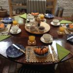 Fab breakfast spread by Jasper