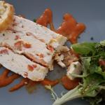 terrine chèvre saumon