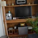 TV & Snack Area