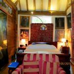 Oast house bedroom