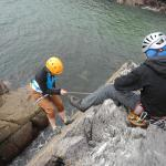 Climbing with RockUp-Climbing at PorthClais, Wales