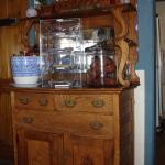 The rustic dresser
