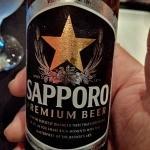No puede faltar una buena Sapporo