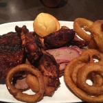 3 meat platter - Awesome !