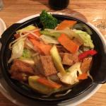 Super crunchy veggies make this  delicious vegetable claypot a standout!