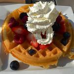 Vanilla Bean Waffle