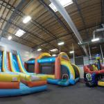 The front bounce room!