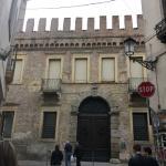 The front from Via del Santo