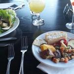 Antipasto and salad