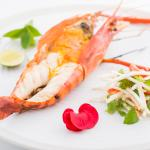 River Prawn with Green Mango Salad