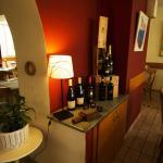 Angolo vini in esposizione