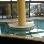 This is the pool.. if you like to swim maybe this isnt the place for you... but if you dont care