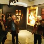 Guided tours means you are in the best company of art fans