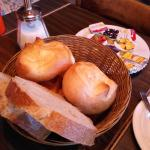 simple breakfast - breads with beverages