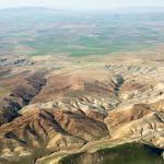 aerial view of Cappadocia