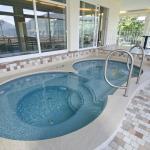 Wellnessbereich/Whirlpools mit herrlichem Panoramablick