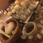 Welcome Tea and Herbal Ball / Essential Oils choice