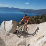 Biking the Lake Tahoe Flume Trail