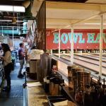 Bar Running along the Bowling Lanes