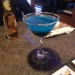 Wonder Woman martini - so good!!