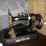 Sewing machine used by the lighthouse keeper's wife