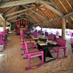 Te Ava Restaurant - Your feet in the sand