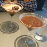 Peanut Butter Cup Martini and Hershey's Kisses Signature Martini