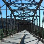 Historic Gillespie Dam Bridge