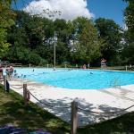 Heart Lake's pool