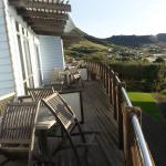 Communal deck accessed from each unit