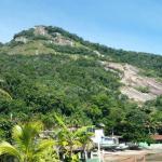 Vista da colina que possui o Mirante
