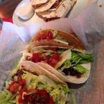 Tacos and quesadillas on Cinco de Mayo.