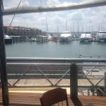A clear view of the Urangan Harbour