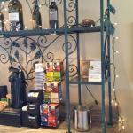 Lobby free tea and coffee