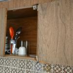 La cocineta sin puertas