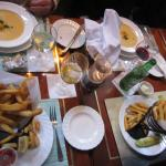 A view of some of our food