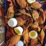 Blue crabs!  Yum!