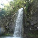 Pony tail falls.. we floated right through it :)