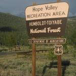 Hope Valley Recreation Area, Hope Valley, Ca