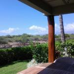 View from Lower Patio of Kalahuipua'a Historic Park
