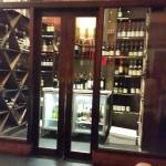 wine and champagne cellar